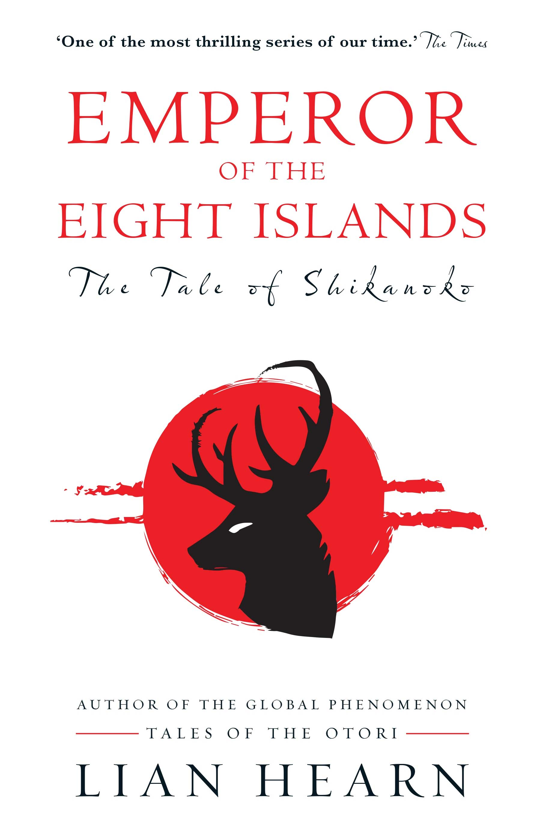 Cover of Emperor of the Eight Islands by Lian Hearn