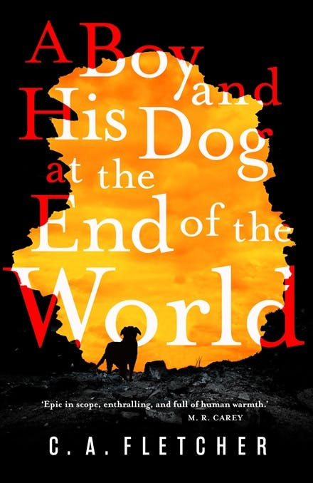 A Bpy and His Dog at the End of the World by CA Fletcher