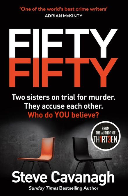 Fifty Fifty by Steve Cavanagh