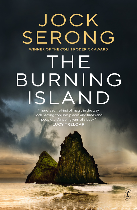 The Burning Island by Jock Serong